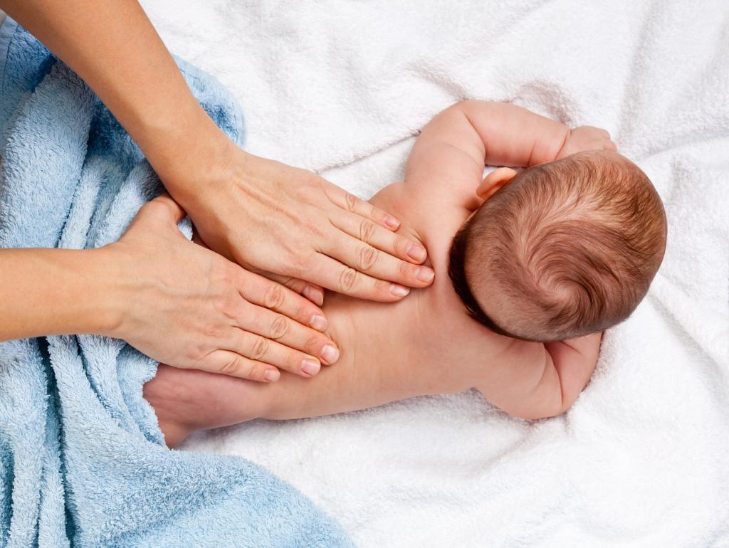 Массаж для 2-х месячного ребенка