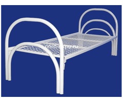 Бюджетные кровати металлические со сварной сеткой, эконом - Изображение 4