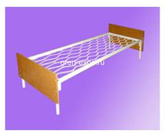 Двухъярусные кровати металлические с ДСП спинкой, престиж - Изображение 1