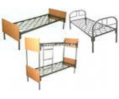Двухъярусные кровати металлические с ДСП спинкой, престиж - Изображение 2