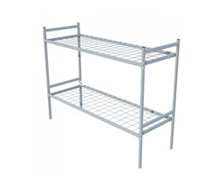 Двухъярусные кровати металлические с ДСП спинкой, престиж - Изображение 3