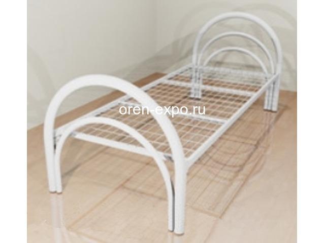 Двухъярусные кровати металлические с ДСП спинкой, престиж - 4