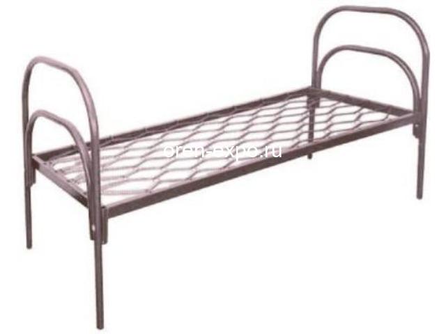 Оптом реализуем металлические кровати с доставкой по стране - 1