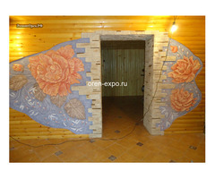 Барельефы, роспись стен в квартирах, домах - Изображение 2