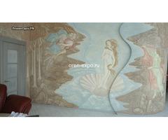 Барельефы, роспись стен в квартирах, домах - Изображение 4