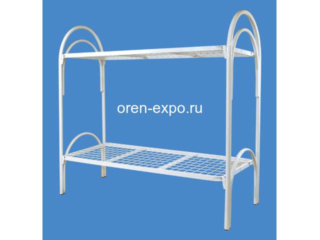 Реализуем оптом и в розницу кровати металлические для детских домов - 1