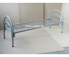 Дешевые одноярусные металлические кровати для строителей - Изображение 1