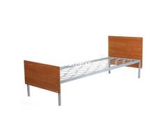 Дешевые одноярусные металлические кровати для строителей - Изображение 3