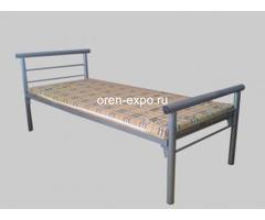 Дешевые одноярусные металлические кровати для строителей - Изображение 4
