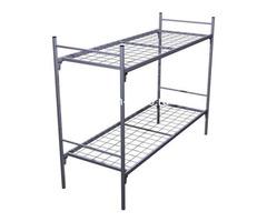 Дешевые одноярусные металлические кровати для строителей - Изображение 6