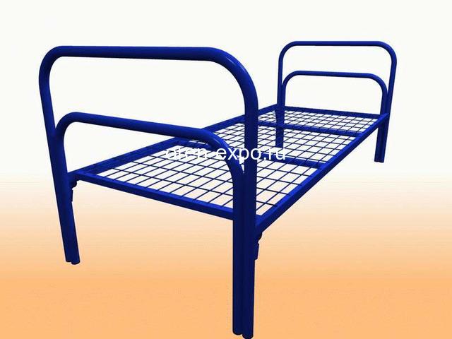 Кровати металлические со сварной сеткой, доставка по стране - 3