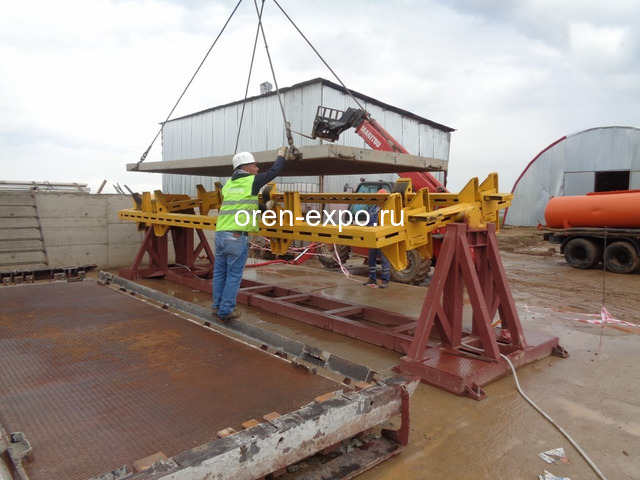 Линия по производству дорожных и аэродромных плит - 2