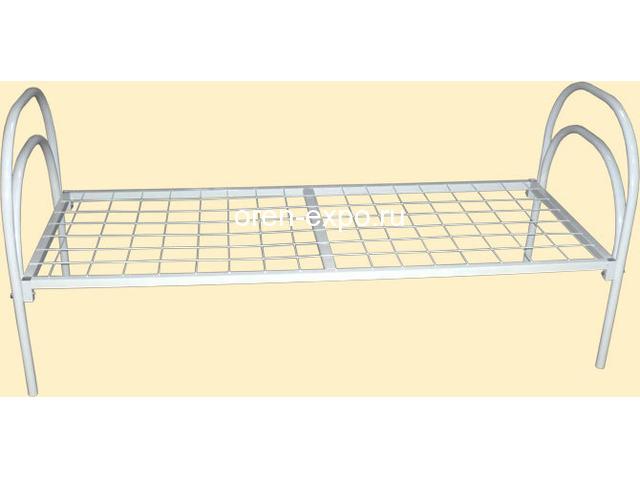 Металлические кровати прочные для детских садов - 2