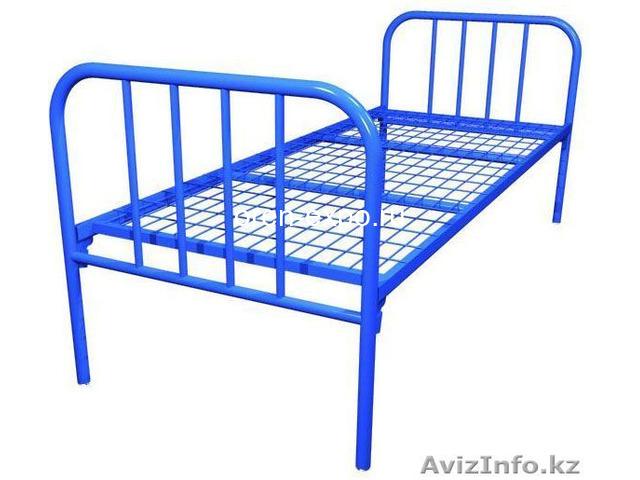 Кровати металлические в общежития, интернаты - 1