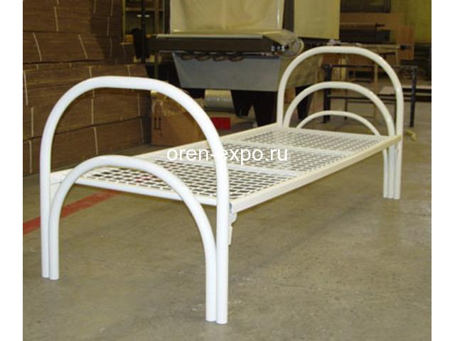 Металлические кровати дешево купить для дачи - 1