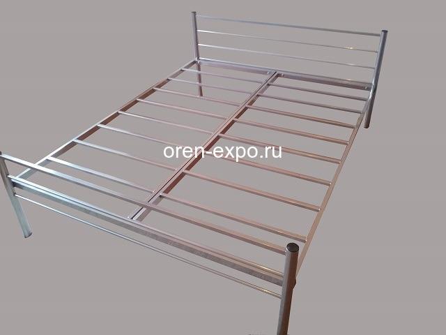 Металлические кровати дешево купить для дачи - 4