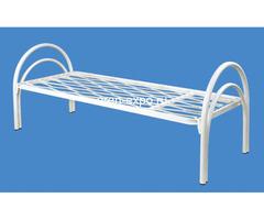 Бюджетные кровати металлические одноярусные - Изображение 2