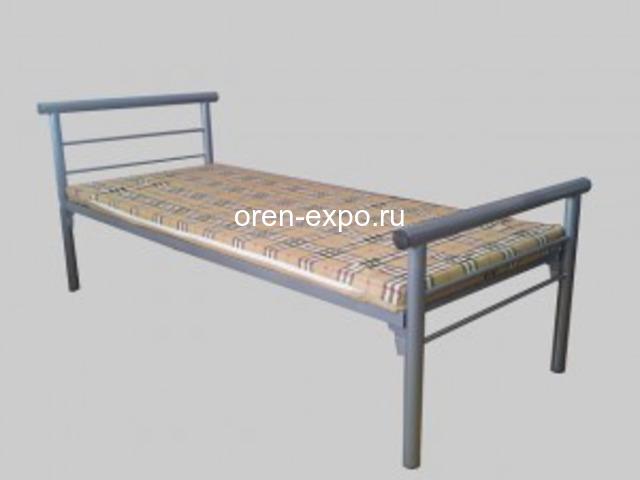 Бюджетные кровати металлические одноярусные - 3