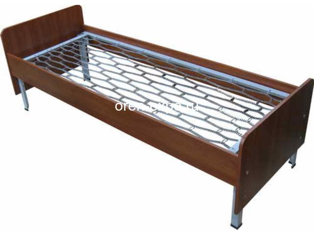Заказать у производителя кровати металлические трехъярусные - 1