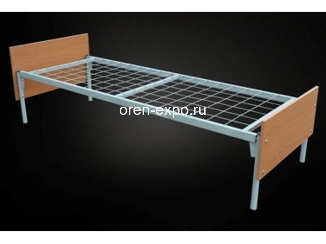 Заказать у производителя кровати металлические трехъярусные - 2