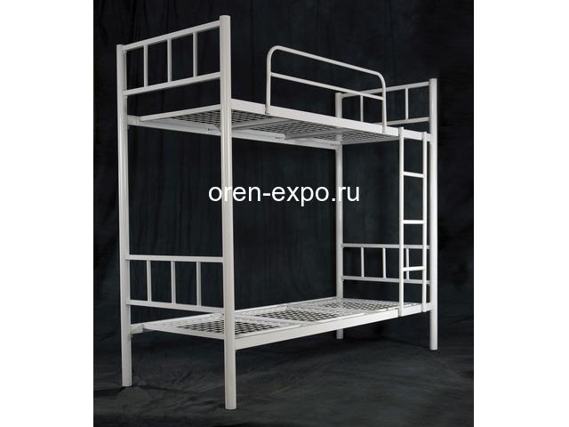 Заказать у производителя кровати металлические трехъярусные - 3