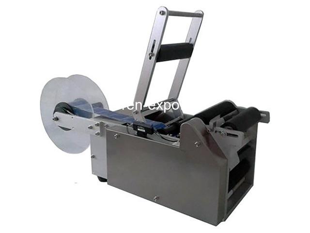 Этикетировщик полуавтоматический для круглых бутылок PFL-50 - 1