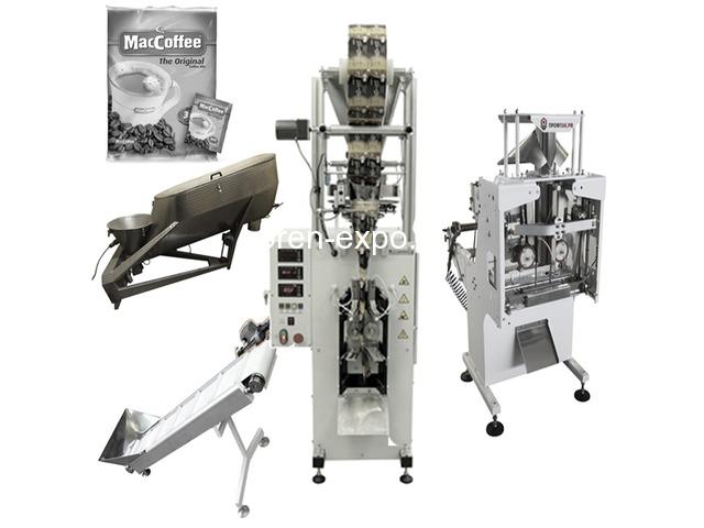 Линия фасовки и упаковки кофе 3 в 1 в пакет Саше - 1