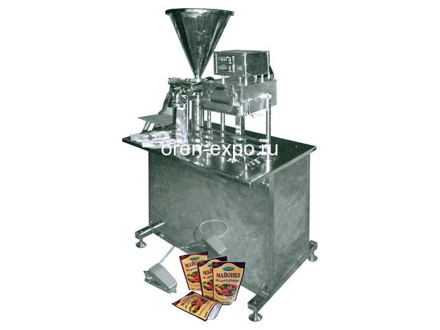 Полуавтомат для фасовки пастообразных продуктов в Дой Пак - 1