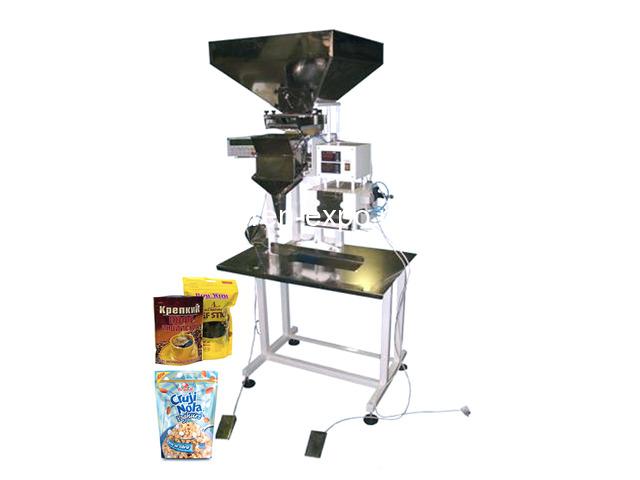 Полуавтомат для фасовки сыпучих продуктов в дой пак пакет - 1