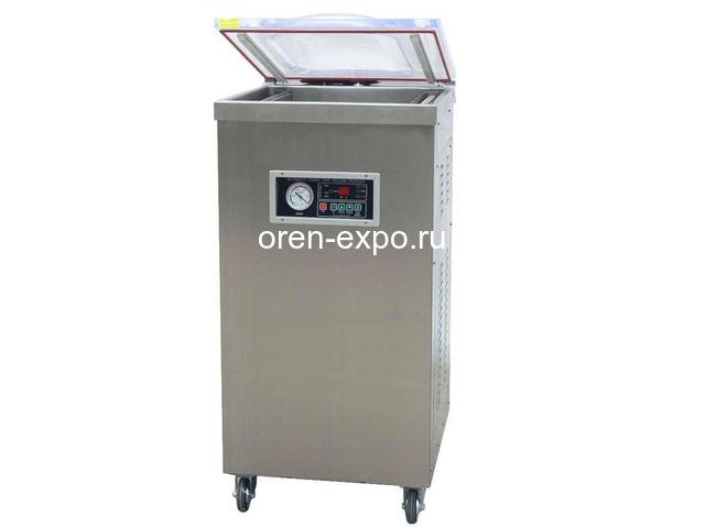 Вакуумный упаковщик однокамерный напольный DZ-400/2E - 1
