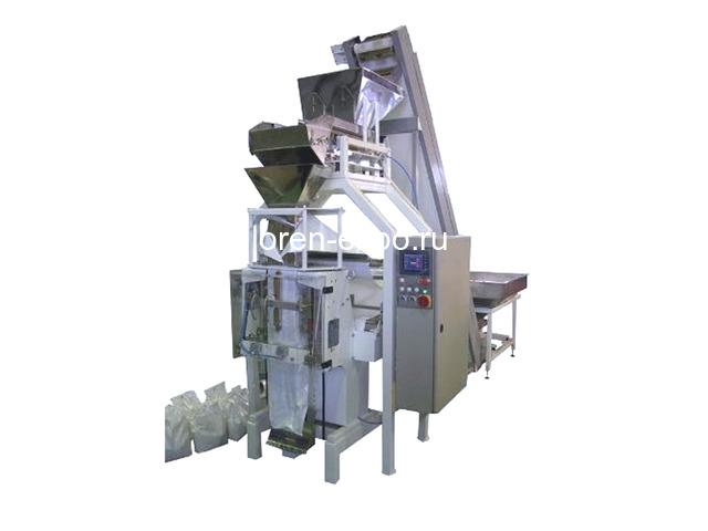 Автоматическая линия упаковки сыпучих продуктов до 20 кг - 1