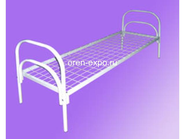 Высокопрочные кровати металлические в пансионаты - 1