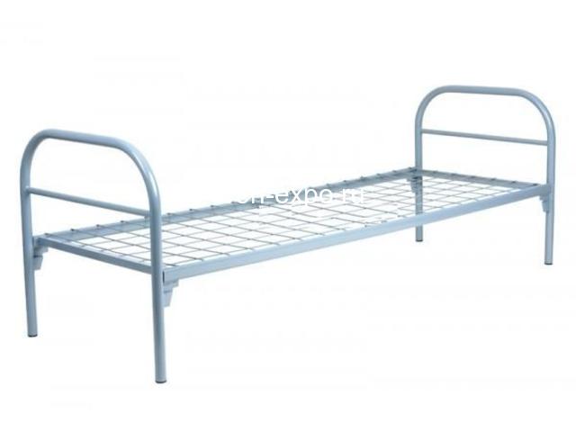 Высокопрочные кровати металлические в пансионаты - 3
