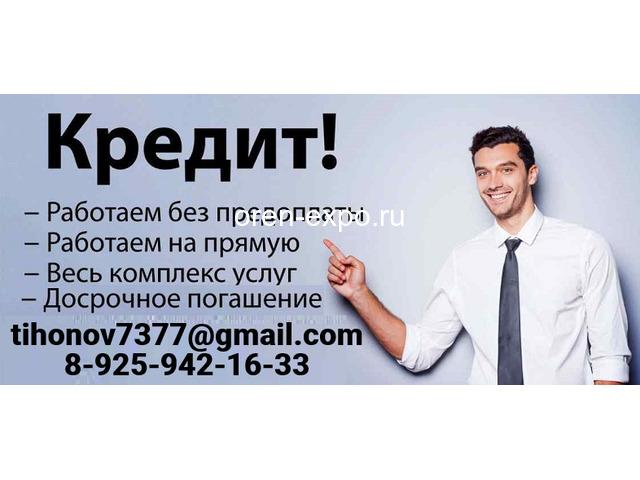 Финансовая помощь от частного лица - 1