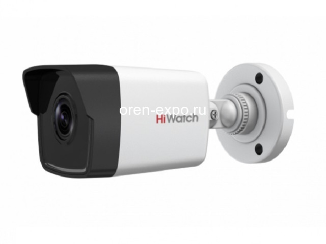 Уличная 4Мп IP видеокамера Hiwatch DS-I400 (B) - 1