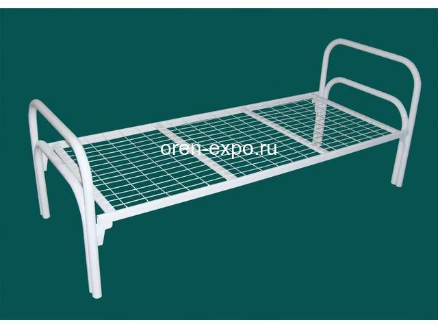 Качественные кровати металлические для дачи - 2
