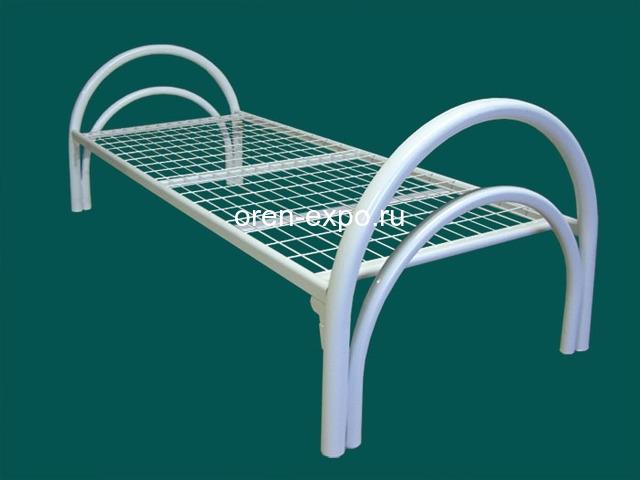 Купить дешево кровати металлические оптом - 2