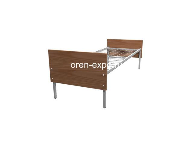 Купить дешево кровати металлические оптом - 3