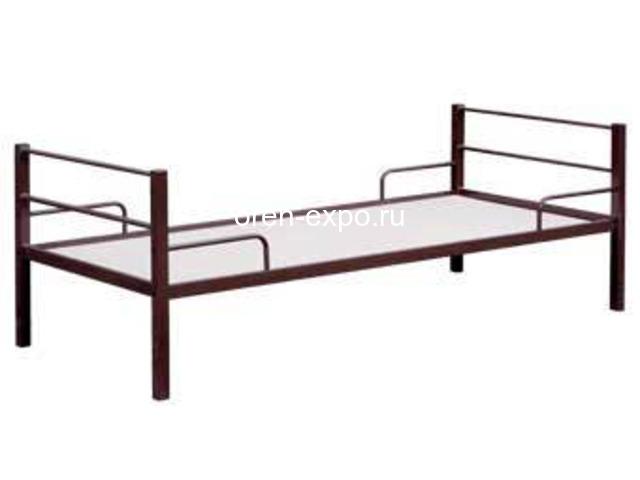Купить дешево кровати металлические оптом - 4