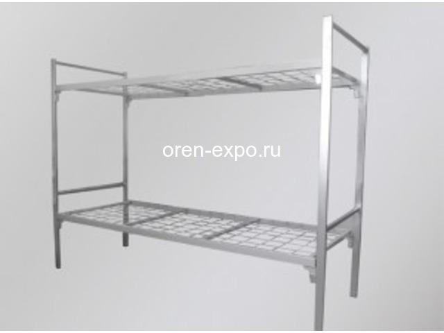 Купить дешево кровати металлические оптом - 6