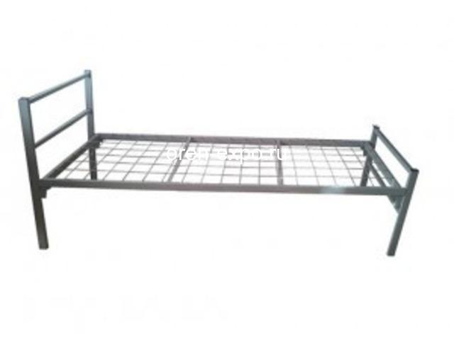 С доставкой по стране реализуем кровати металлические - 4