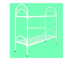Двухъярусные кровати металлические с лестницами - Изображение 1