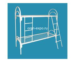 Двухъярусные кровати металлические с лестницами - Изображение 2