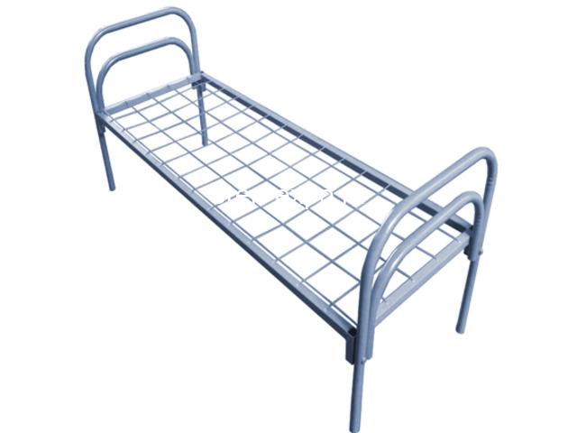 Одноярусные кровати металлические для рабочих - 2