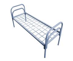 Одноярусные кровати металлические для рабочих - Изображение 2
