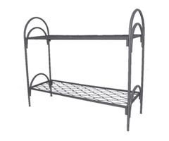 Одноярусные кровати металлические для рабочих - Изображение 3