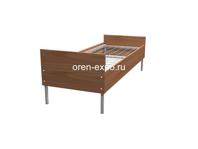 Одноярусные кровати металлические для рабочих - 6