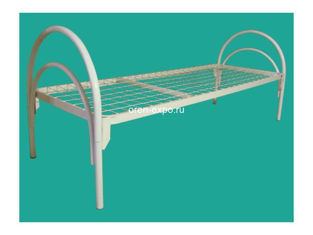Кровати металлические двухъярусные, трехъярусные под заказ - 1