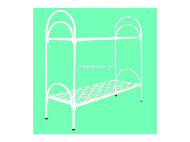 Кровати металлические двухъярусные, трехъярусные под заказ - 2