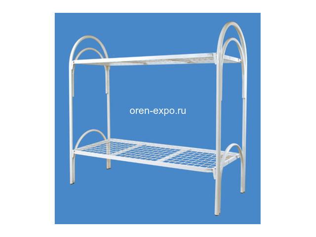 Кровати металлические двухъярусные, трехъярусные под заказ - 3